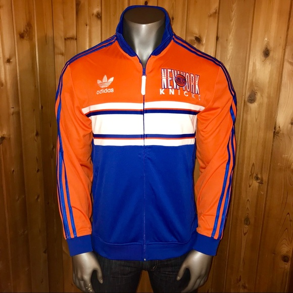 73cd72e218 NWT! Adidas New York Knicks Men's Track Jacket NWT